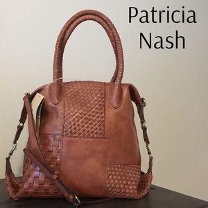 Patricia Nash 3 Way Weave Paloma Tote